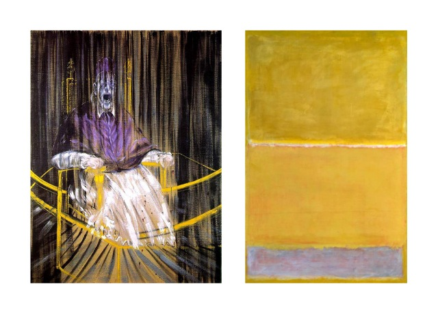 Francis Bacon + Mark Rothko