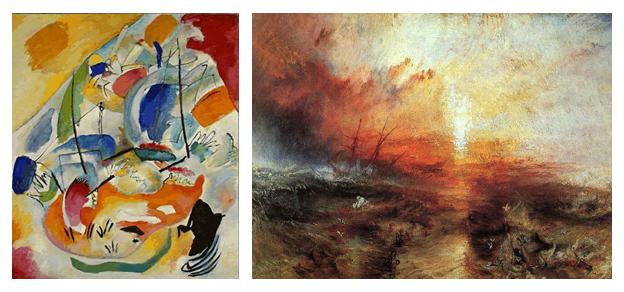 Kandinsky + Turner