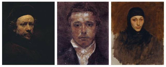 Rembrandt + Samuel Palmer + John Singer Sargent