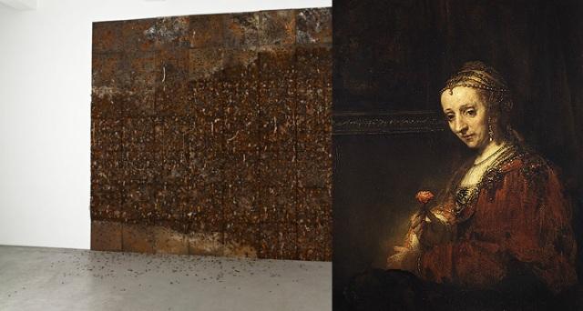 Leonardo Drew + Rembrandt van Rijn