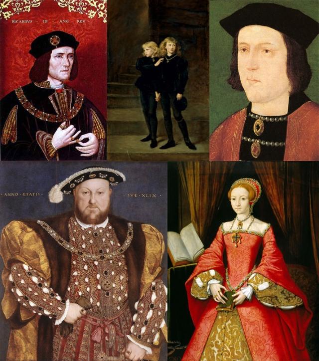 anon + John Everett Millais + anon + Holbein + William Scrots
