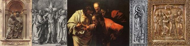 Andrea del Verrocchio + Albrecht Dürer + Michelangelo Merisi da Caravaggio + Echtermach Master + Anonymous