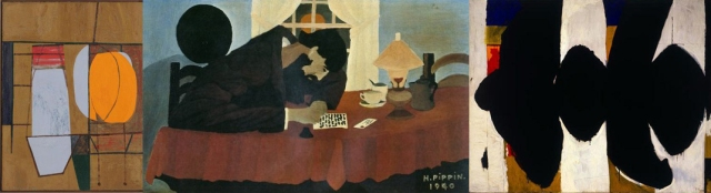 Robert Motherwell + Horace Pippin + Robert Motherwell