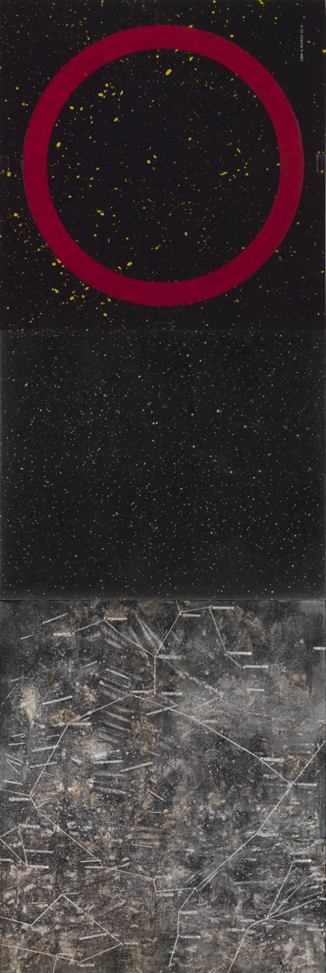 Edward Ruscha + Vija Celmins + Anselm Kiefer