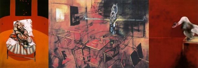 Francis Bacon + Roberto Matta + Francis Bacon