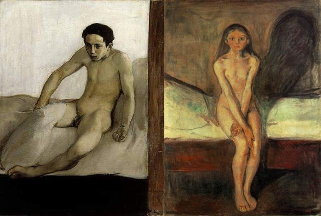 Magnus Enckell + Edvard Munch