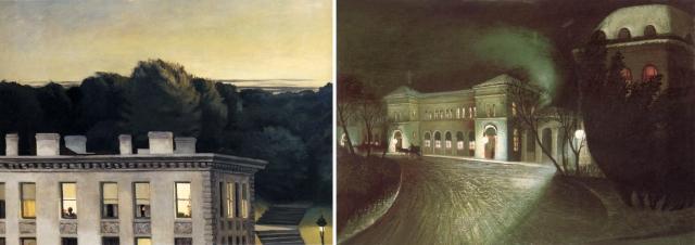 Edward Hopper + Tivadar Kosztka Csontváry