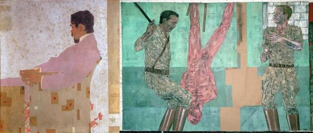 Egon Schiele + Leon Golub