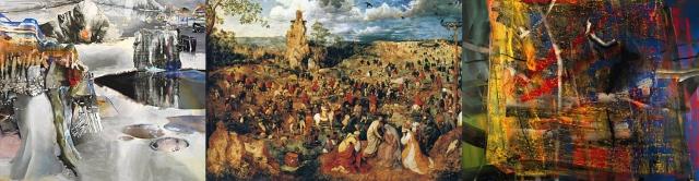 Leslie Shows + Pieter Bruegel the Elder + Gerhard Richter