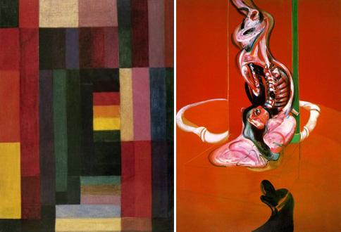 Johannes Itten + Francis Bacon
