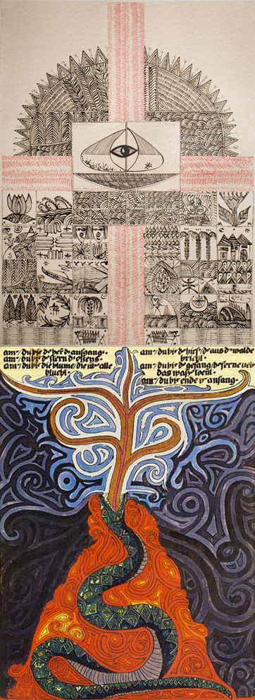 Rachid Koraïchi + Carl Jung