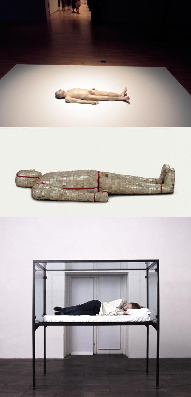 Ron Mueck + Western Han Dynasty + Cornelia Parker