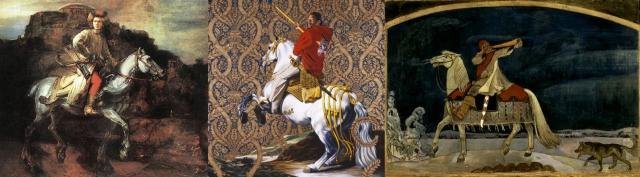 Rembrandt Harmenszoon van Rijn + Kehinde Wiley + Akseli Gallen-Kallela