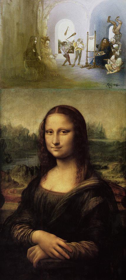 Ralph Steadman + Leonardo di ser Piero da Vinci