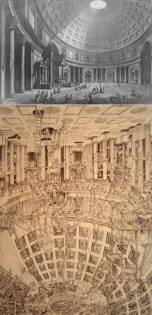Giovanni Battista Piranesi + Adam Dant