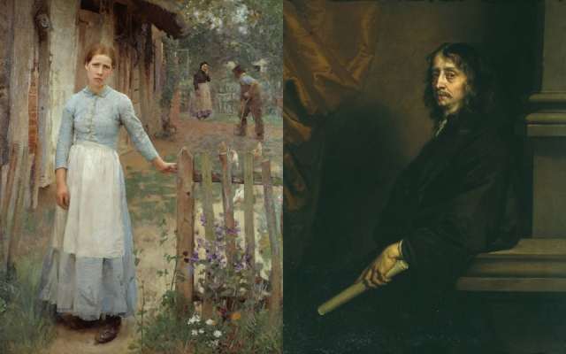 Sir George Clausen + Sir Peter Lely