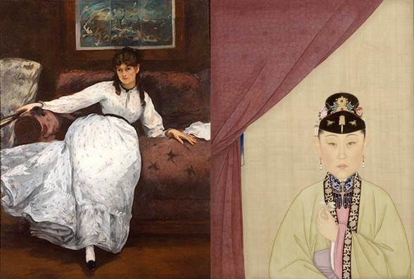 Édouard Manet + Anon (Qing dynasty)