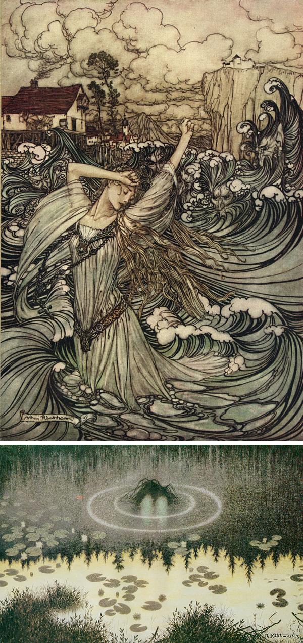 Arthur Rackham + Theodor Severin Kittelsen