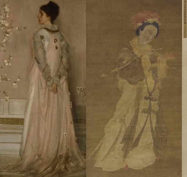 James Abbott McNeill Whistler + Tang Yin