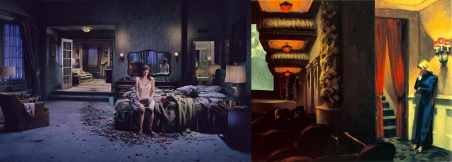 Gregory Crewdson + Edward Hopper