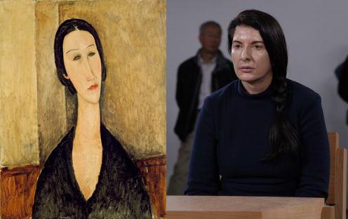 Amedeo Modigliani + Marina Abramović