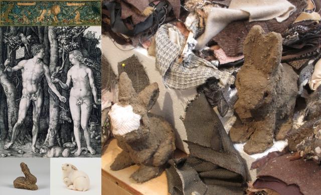William Morris + Kathryn Spence + Anon (netsuke) + Dieter Roth + Albrecht Dürer