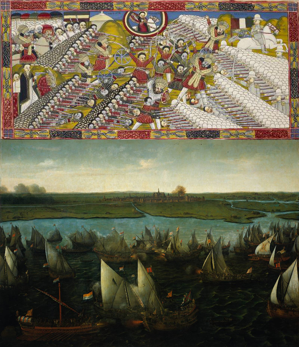Anon (Battle of Adwa) + Hendrik Cornelisz Vroom