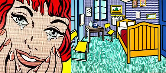 Elaine Sturtevant + Roy Lichtenstein