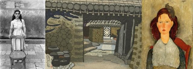 Akram Zaatari + Sekino Jun'ichirō + Amedeo Modigliani