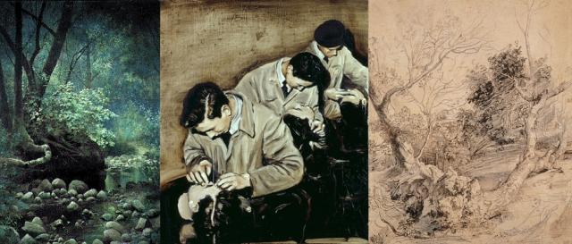 Edwin Deakin + Michaël Borremans + Peter Paul Rubens