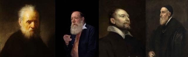 Rembrandt Harmenszoon van Rijn + Catherine Opie + Sir Anthony van Dyck + Titian