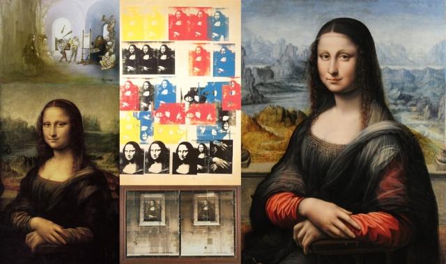 Ralph Steadman + Andy Warhol + Anon + Starn Twins + Leonardo da Vinci