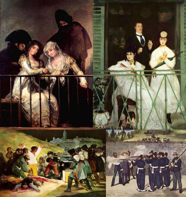 Francisco José de Goya y Lucientes + Édouard Manet