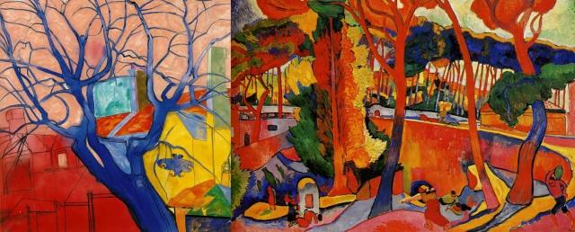R. B. Kitaj + André Derain
