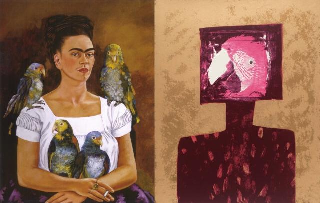 Frida Kahlo + Sir Sidney Nolan
