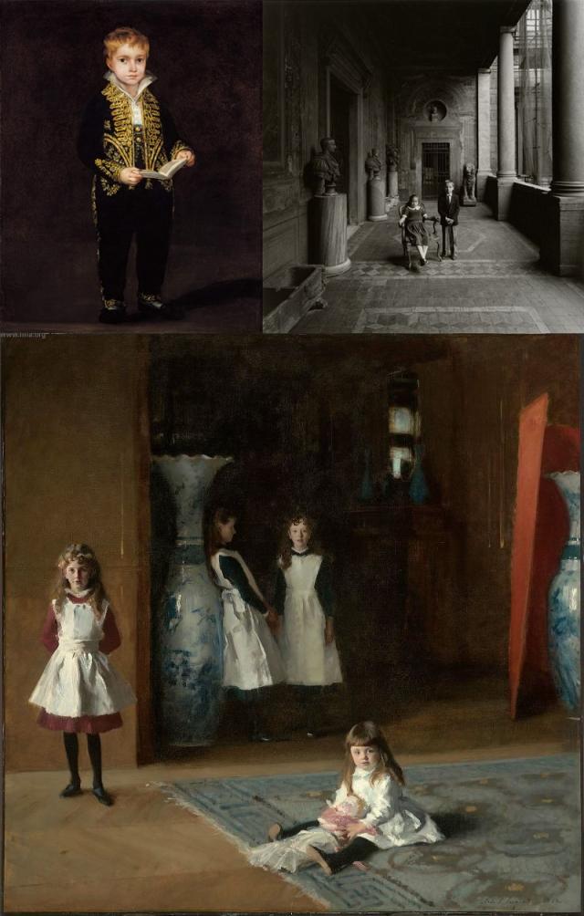 Goya + Patrick Faigenbaum + John Singer Sargent