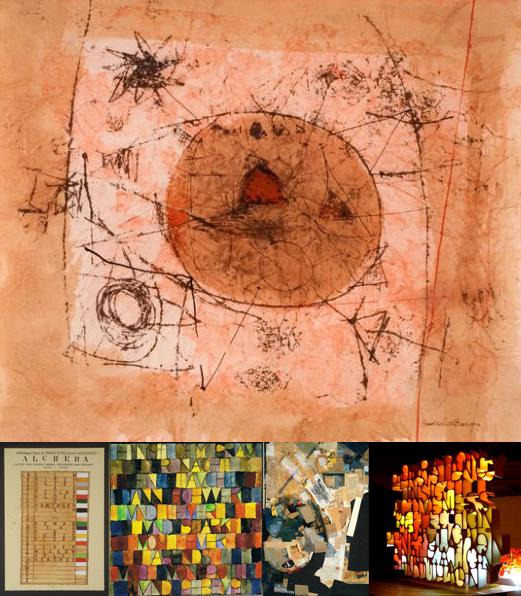 Hannelore Baron + Joe Tilson + Paul Klee + Kurt Schwitters + Shin il Kim
