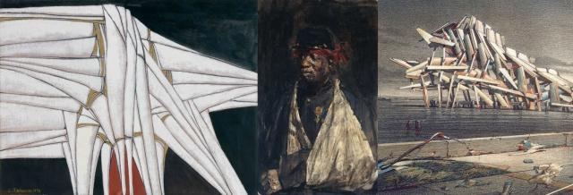 Sirak Melkonian + Isaac Lazarus Israëls + Lebbeus Woods