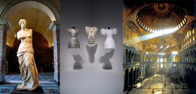 Venus de Milo + Dice Kayek + Hagia Sophia