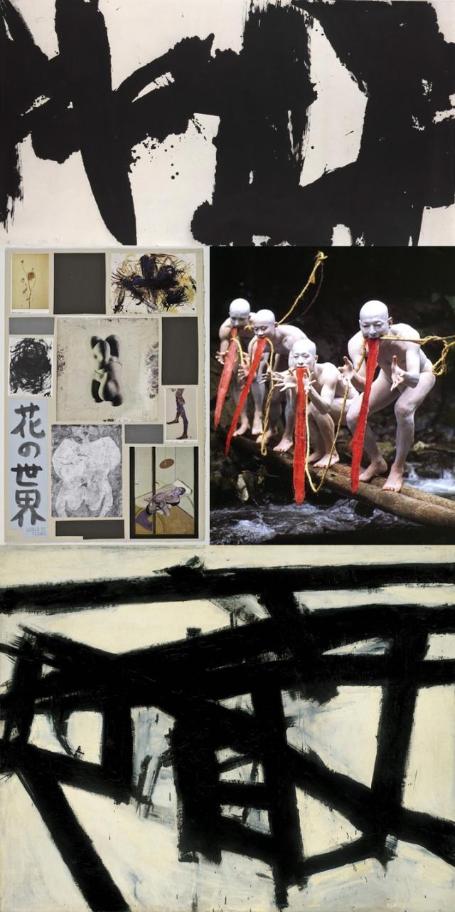 Wang Dongling + Dairakudakan + Franz Kline + Richard Hawkins