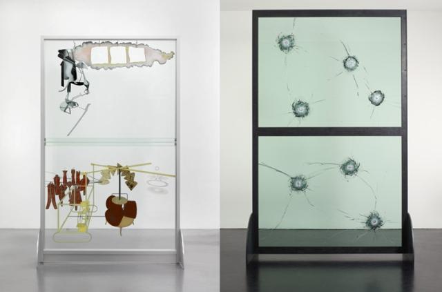 Marcel Duchamp + Kendell Geers