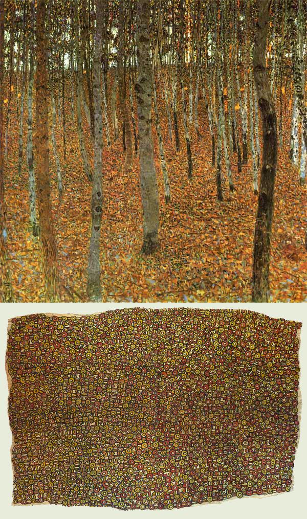 Gustav Klimt + Elizabeth Guho