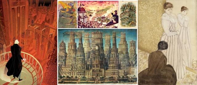Victo Ngai + Les Ateliers A.B.C. + Katherine Roy + George E. Hamilton + Erastus Salisbury Field + Mary Cassatt