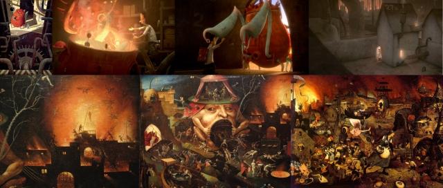 Shaun Tan + Hieronymus Bosch