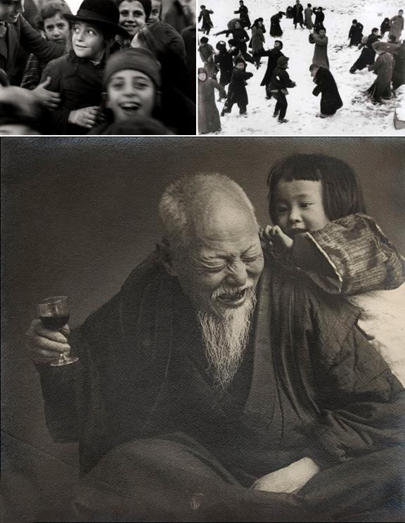 Roman Vishniac + Robert Capa + Ogawa Gesshu