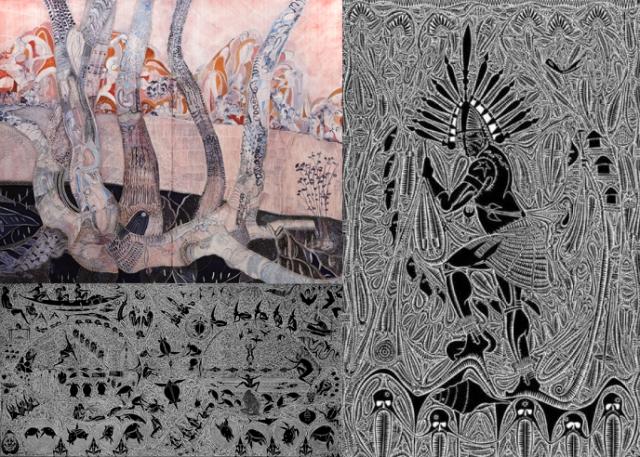 Joshua Yeldham + Alick Tipoti
